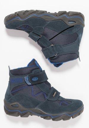 Zimní obuv - navy/blue scuro