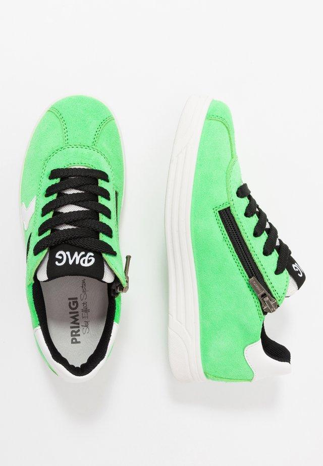 Tenisky - green/bianco