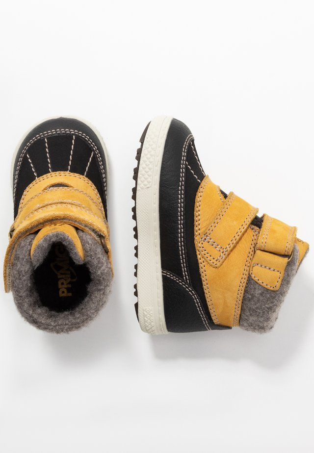 Baby shoes - giallon/nero