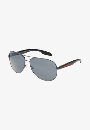 LIFESTYLE - Sunglasses - gunmetal/light grey mirror black