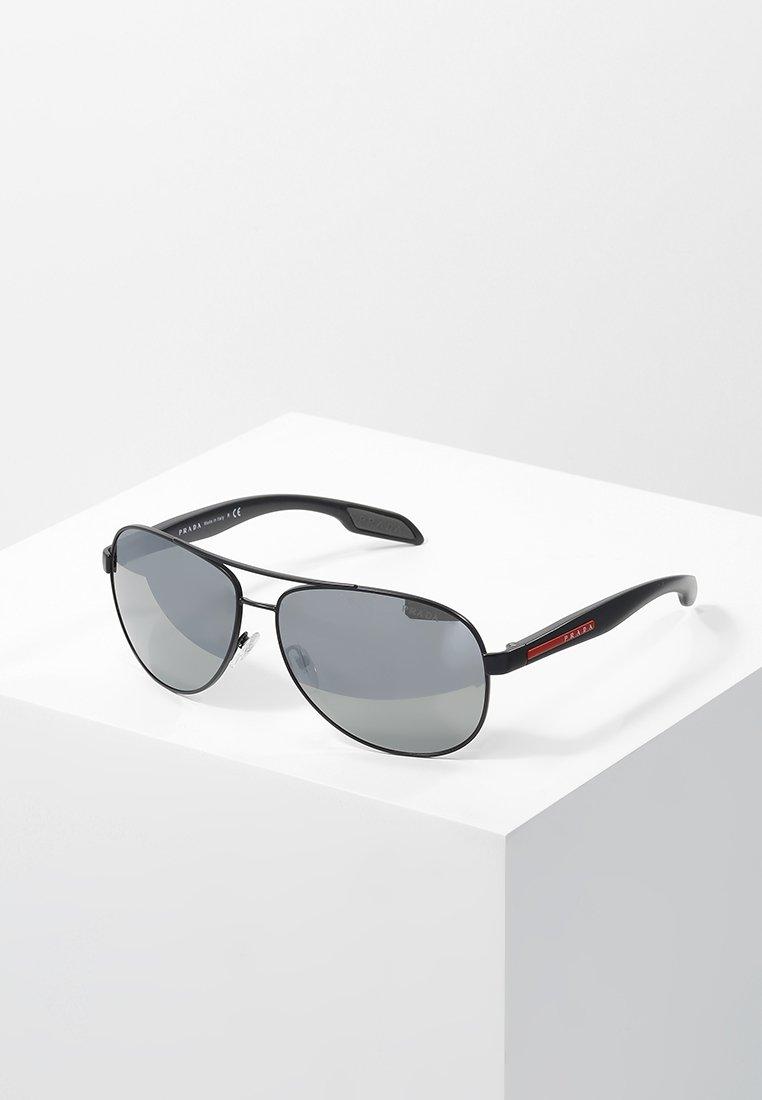 Prada Linea Rossa - LIFESTYLE - Solbriller - black/grey/silver