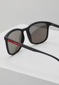 Prada Linea Rossa - Okulary przeciwsłoneczne - black - 2