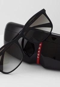 Prada Linea Rossa - Sluneční brýle - black - 3