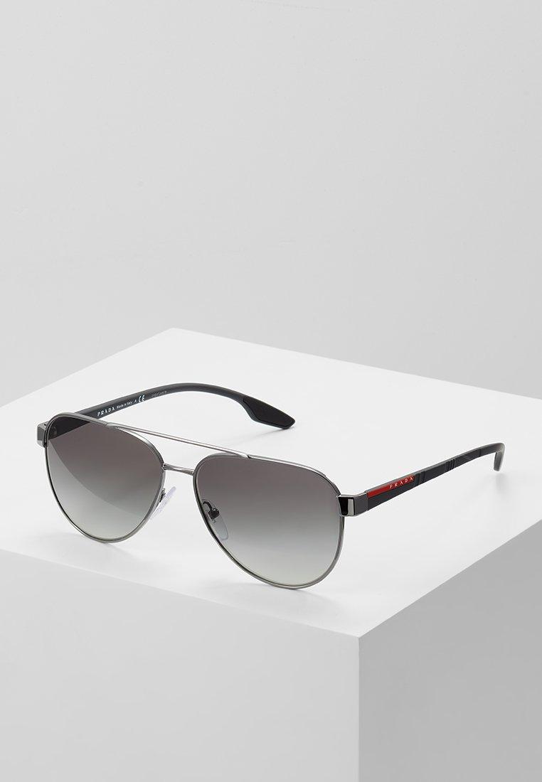 Prada Linea Rossa - Sunglasses - gunmetal/grey gradient