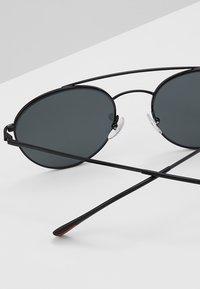 Prada Linea Rossa - Okulary przeciwsłoneczne - black/grey - 4