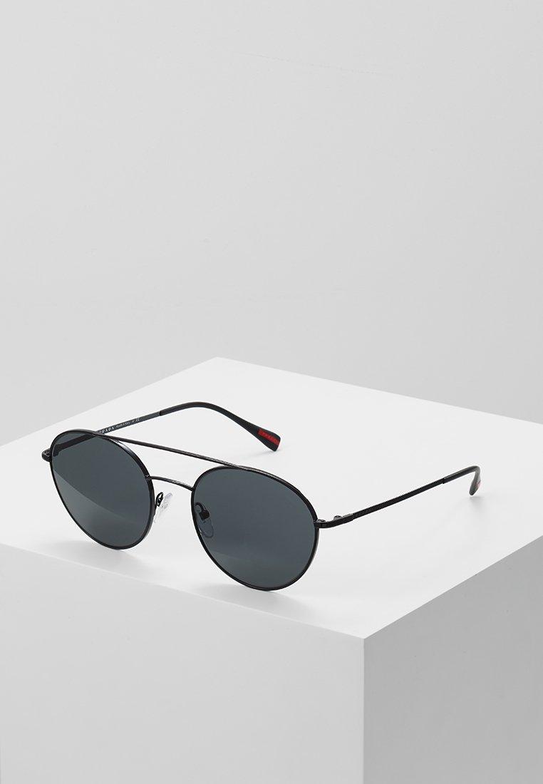 Prada Linea Rossa - Sunglasses - black/grey
