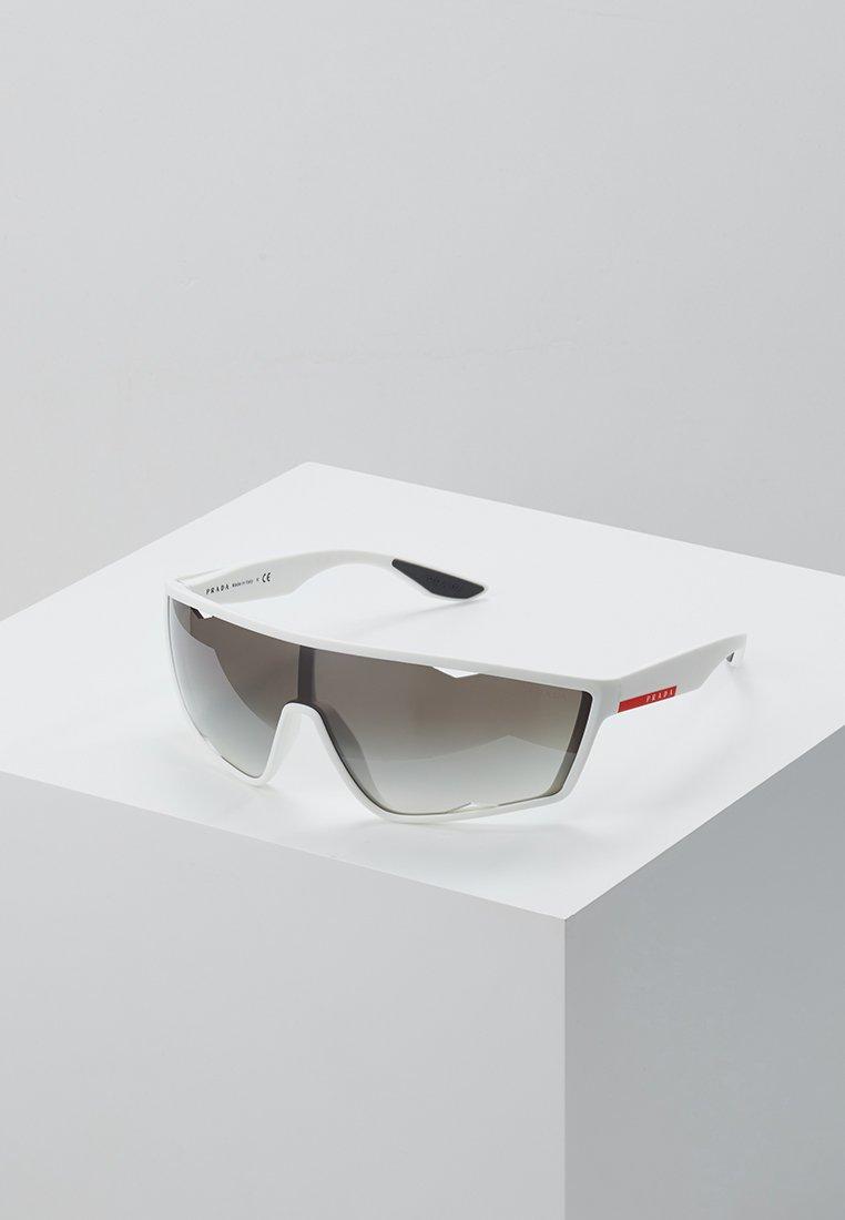 Prada Linea Rossa - Sluneční brýle - white rubber