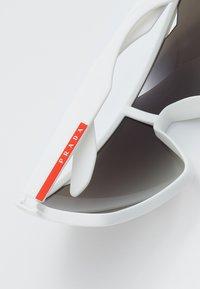 Prada Linea Rossa - Sluneční brýle - white rubber - 4