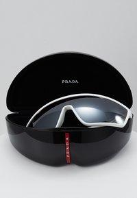 Prada Linea Rossa - Sluneční brýle - white rubber - 2