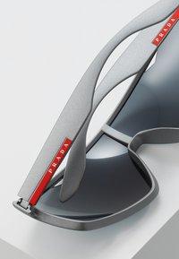 Prada Linea Rossa - Sonnenbrille - dark grey metallized rubber - 4