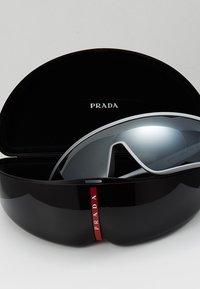 Prada Linea Rossa - Sonnenbrille - dark grey metallized rubber - 2