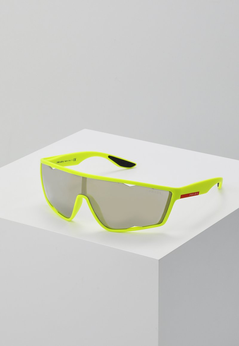 Prada Linea Rossa - Sunglasses - fluo yellow rubber