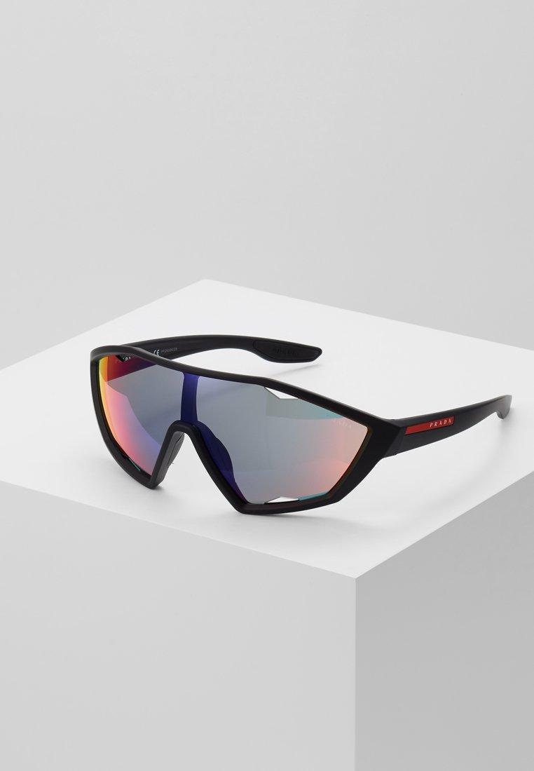 Prada Linea Rossa - Okulary przeciwsłoneczne - black rubber