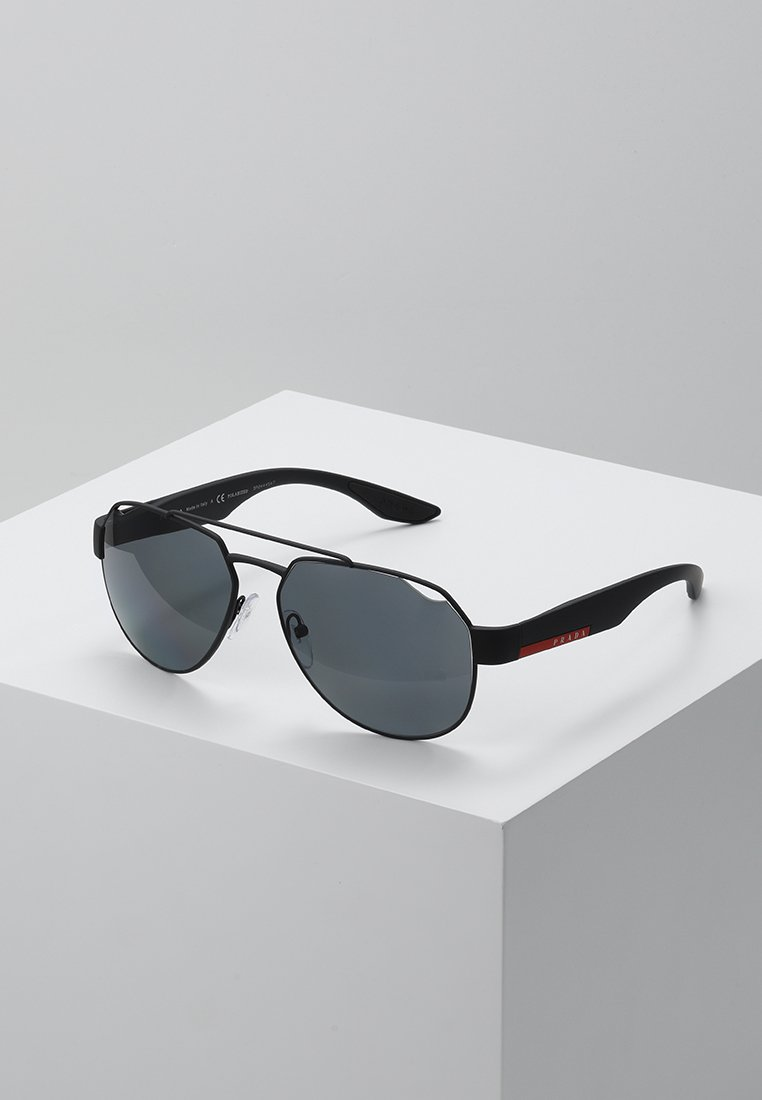 Prada Linea Rossa - Sluneční brýle - black