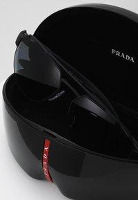 Prada Linea Rossa - Sluneční brýle - black - 2