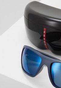 Prada Linea Rossa - Sluneční brýle - black/blue - 2