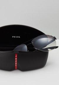 Prada Linea Rossa - Sluneční brýle - matte black - 3