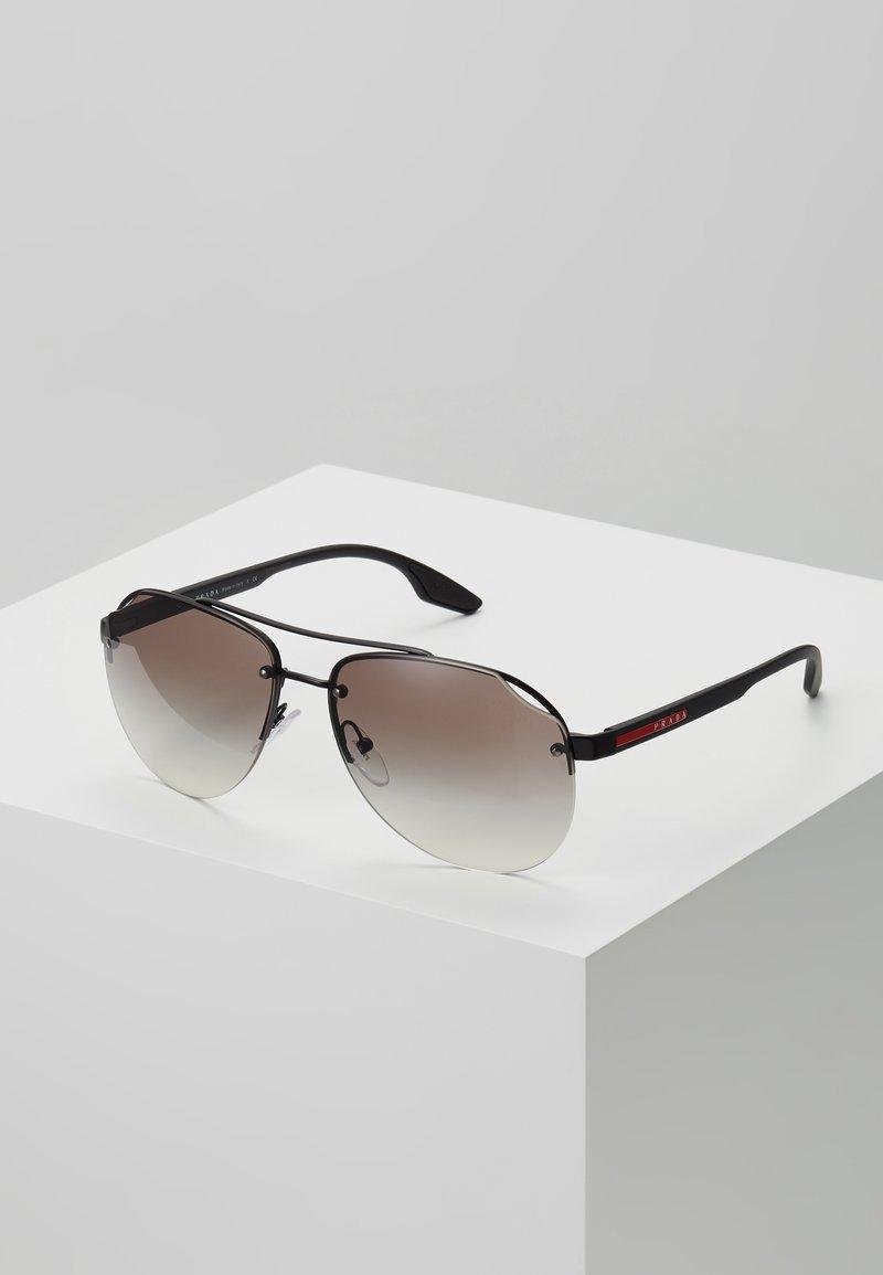 Prada Linea Rossa - Sluneční brýle - matte black