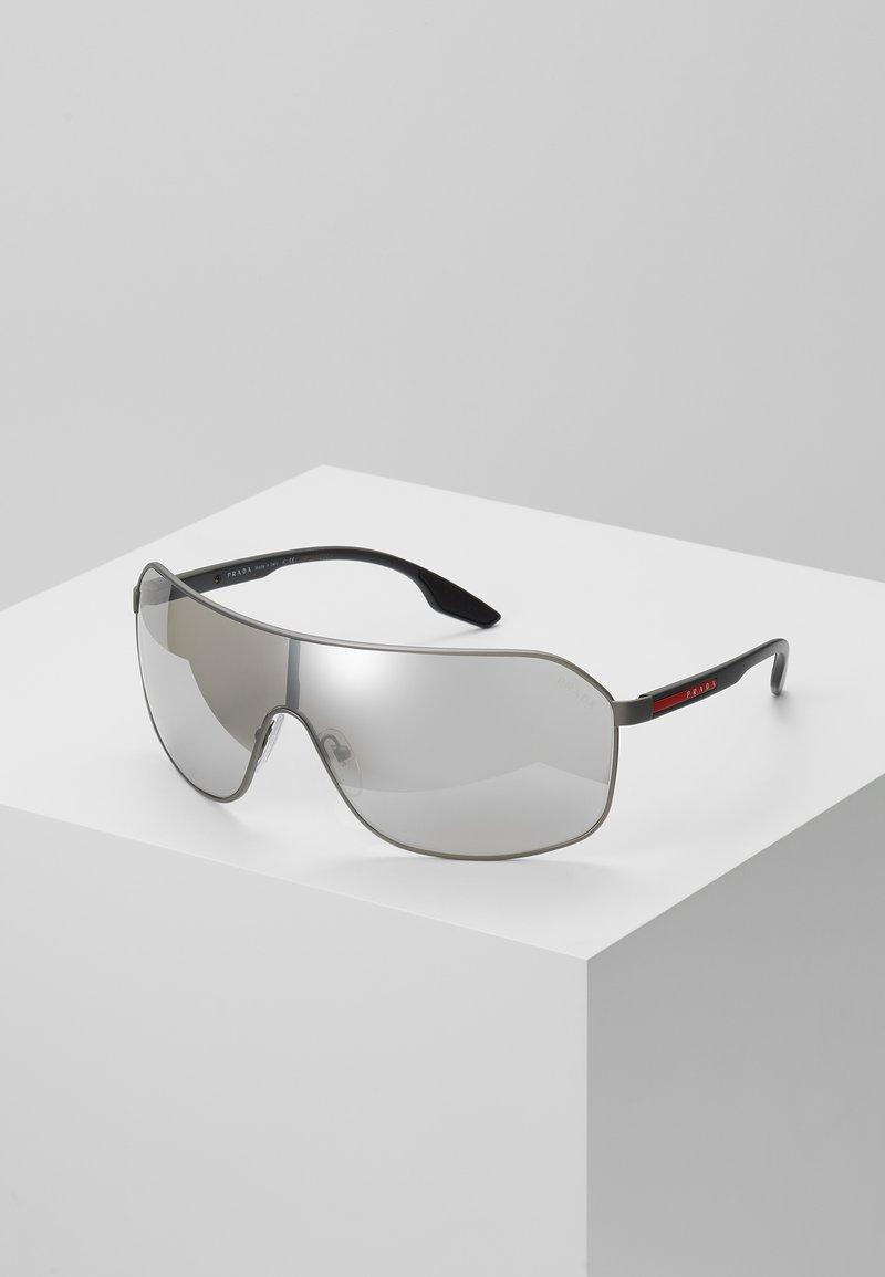 Prada Linea Rossa - Sluneční brýle - matte grey