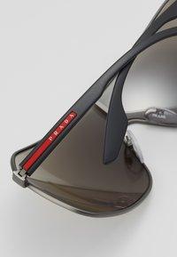 Prada Linea Rossa - Sluneční brýle - matte grey - 2