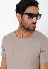 Prada Linea Rossa - Okulary przeciwsłoneczne - black - 1