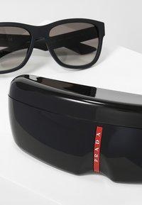 Prada Linea Rossa - Okulary przeciwsłoneczne - black - 3