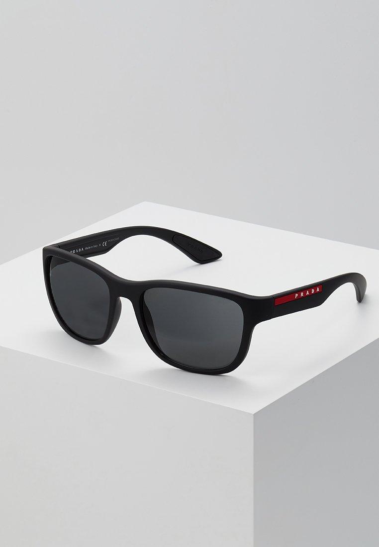 Prada Linea Rossa - Sonnenbrille - matte black/grey