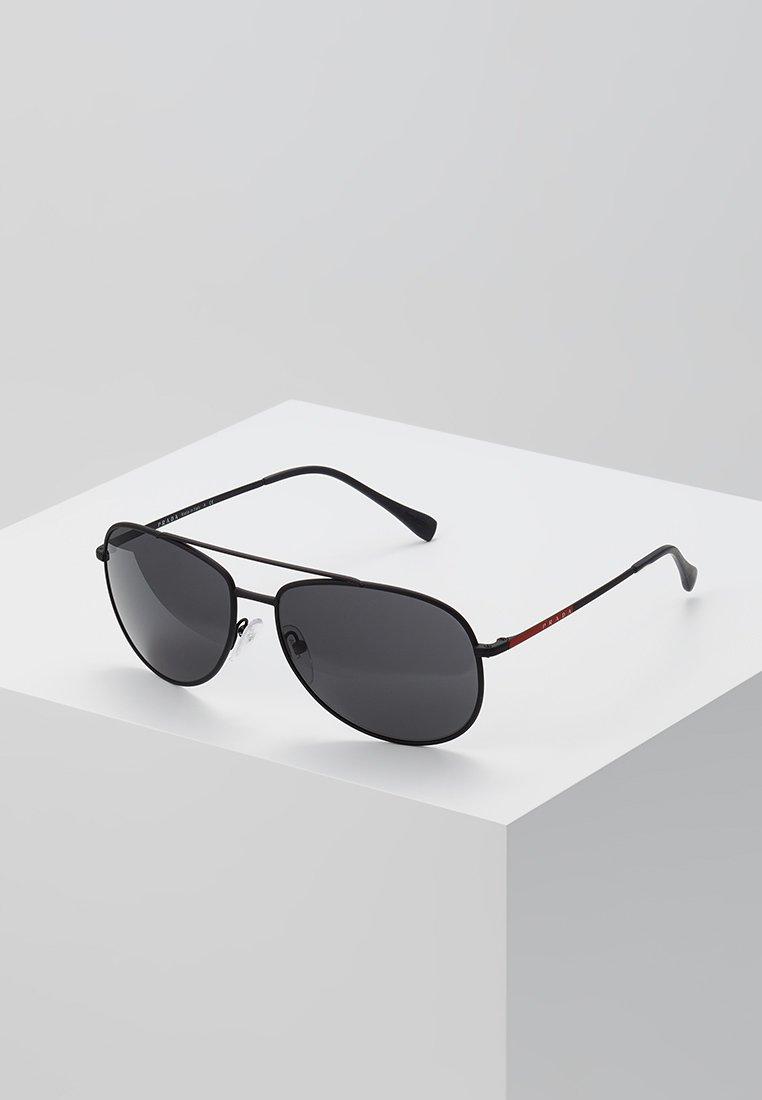 Prada Linea Rossa - Sunglasses - matte black/grey
