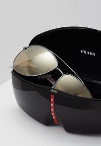 Prada Linea Rossa - Solbriller - matte black/dark brown - 2