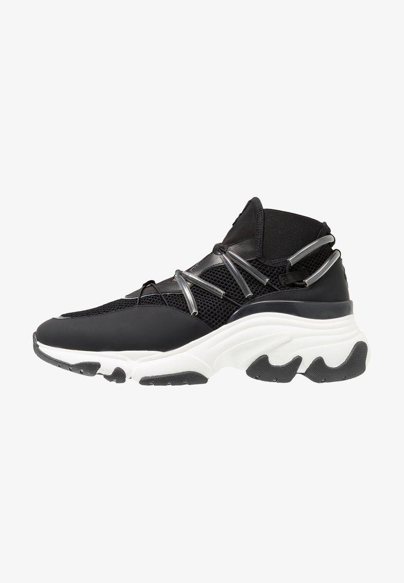 Pregis - DISTA - High-top trainers - black