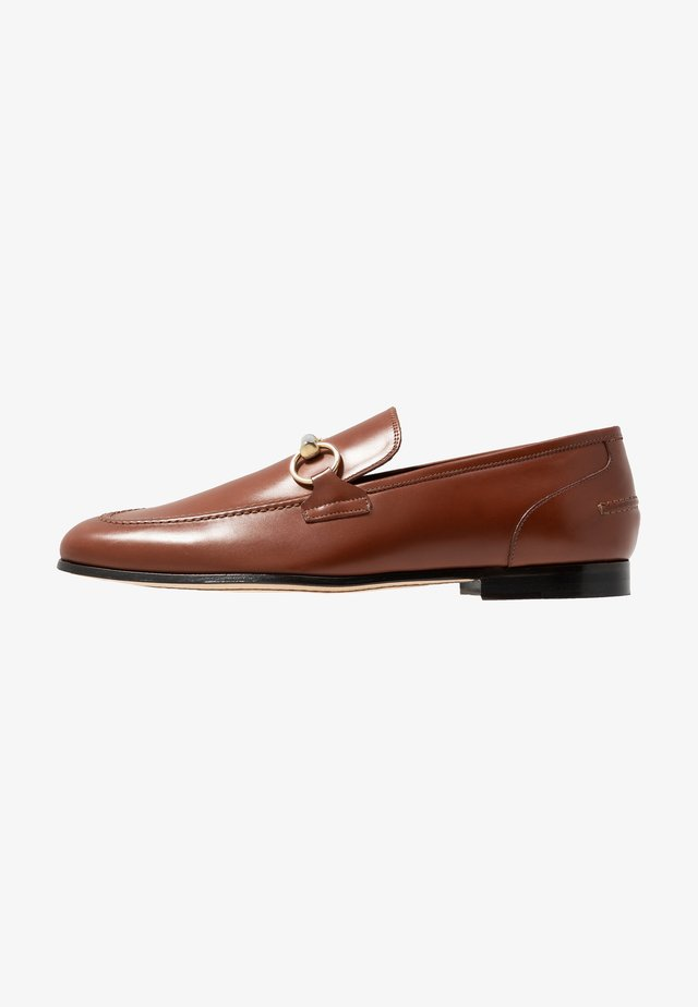 GEORGE TRIM LOAFER - Instappers - parma tan/gold