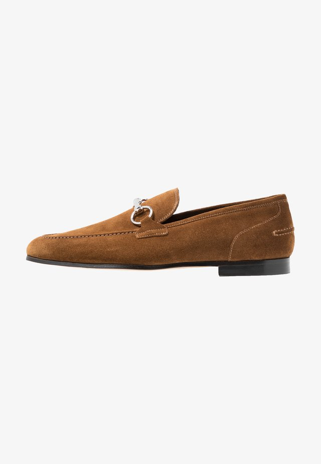 GEORGE TRIM LOAFER - Instappers - tobacco