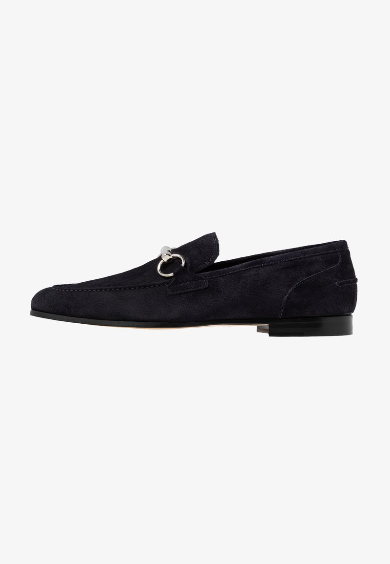 Primosole - GEORGE TRIM LOAFER - Smart slip-ons -  navy