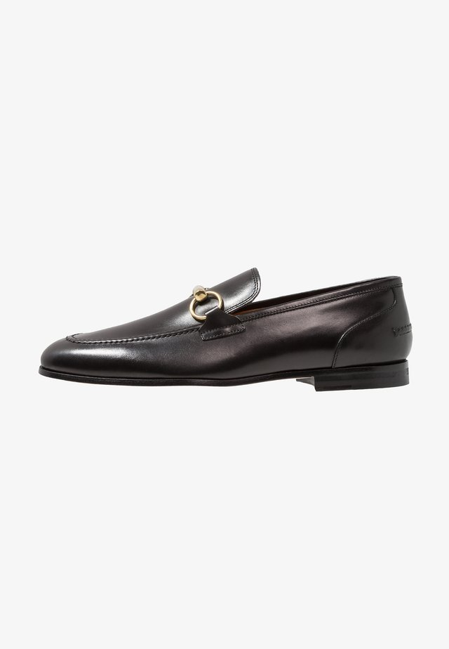 GEORGE TRIM LOAFER - Mocassins - black