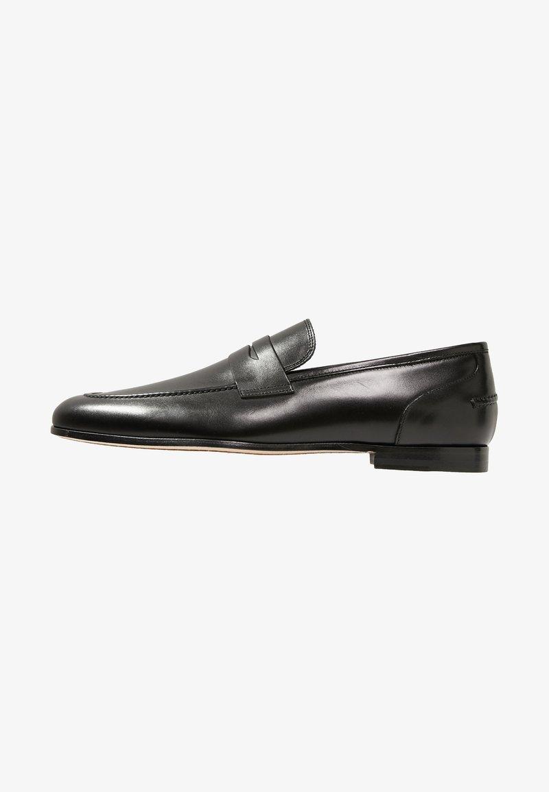 Primosole - GEORGE PENNY LOAFER - Nazouvací boty - black