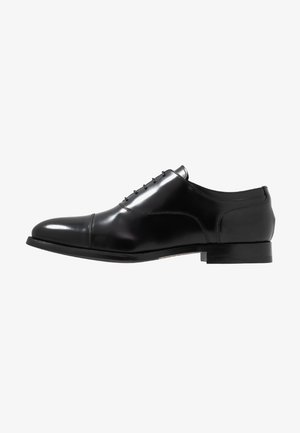 KING ELASTIC TOECAP OXFORD - Derbies - black