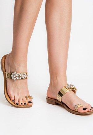 BACENO - Sandals - gold