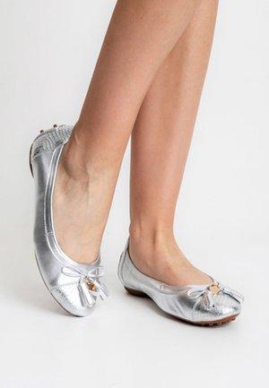 BARLETTA - Ballet pumps - silver