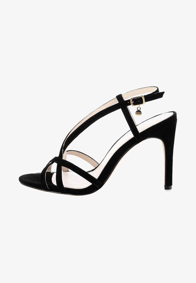 VILLAR - High heeled sandals - black