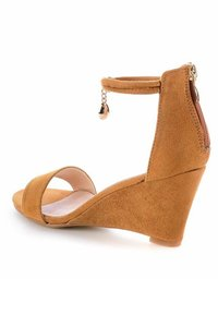 PRIMA MODA - SAMLUCA - Wedge sandals - brown - 3