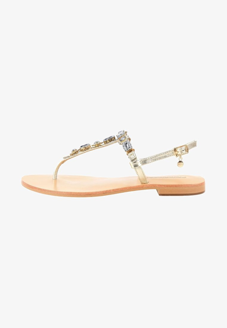 PRIMA MODA - OLDA - T-bar sandals - gold
