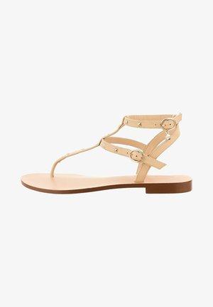 OLMEDO - T-bar sandals - gold