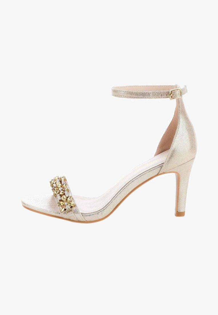 PRIMA MODA - FLAZES  - High heeled sandals - gold