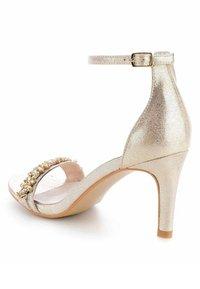 PRIMA MODA - FLAZES  - High heeled sandals - gold - 3