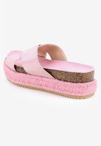 PRIMA MODA - PALMIRRA - Platform sandals - pink - 3