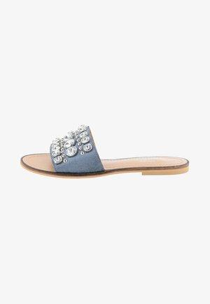ZAHRE - Pantolette flach - blue