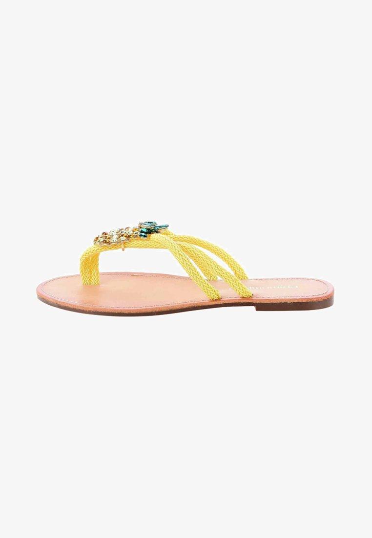 PRIMA MODA - BADOLO - Sandalias de dedo - yellow