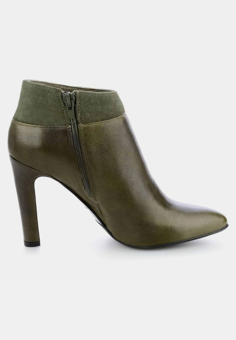 PRIMA MODA SALETTO- Bottines à talons hauts green