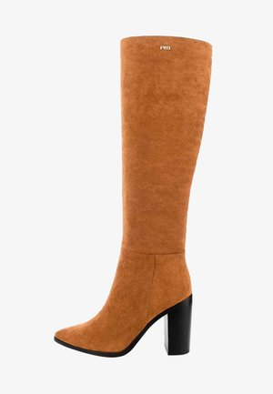 QUERO  - High heeled boots - brown