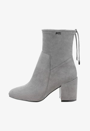VIONE  - High heeled ankle boots - grey